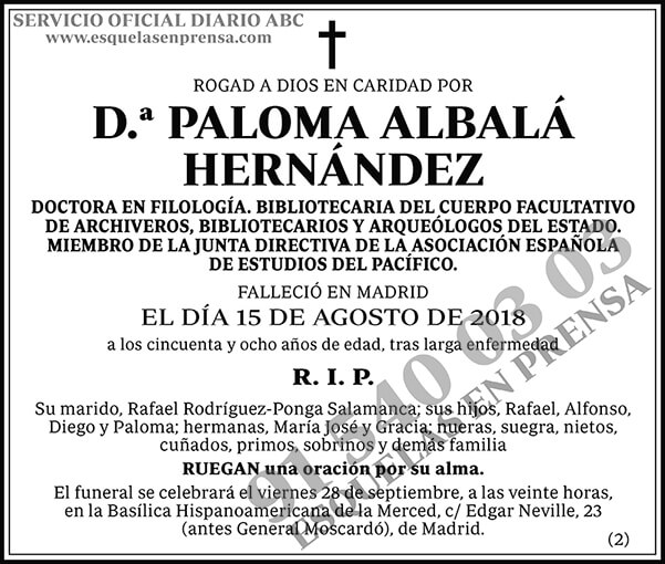Paloma Albalá Hernández
